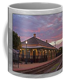 Waiting On The Train Coffee Mug