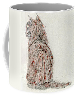 Coffee Mug featuring the painting Waiting by Stephanie Grant