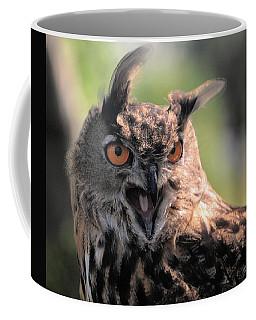 Coffee Mug featuring the photograph Wake Up by Leticia Latocki