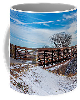 Walk Across Bridge Coffee Mug