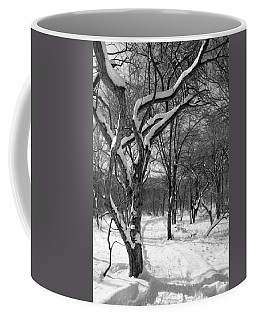 Walk In The Snow Coffee Mug