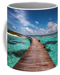 Walk Over The Water Coffee Mug
