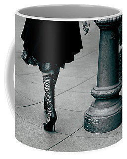 Walk This Way Coffee Mug