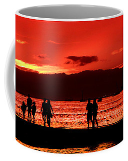 Walk To The Light Coffee Mug by Kristine Merc
