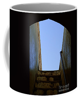 Walk To The Sky Coffee Mug by Kiran Joshi