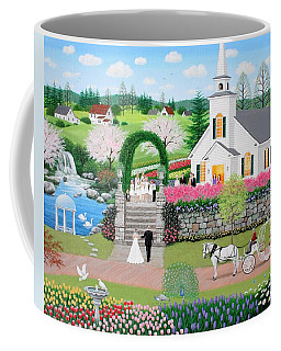 Walk With My Father Coffee Mug