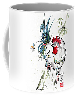 Coffee Mug featuring the painting Walkabout by Bill Searle