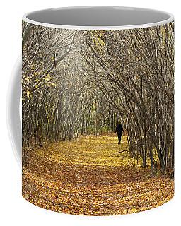Walking A Golden Road Coffee Mug
