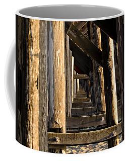 Walking Bridge II Coffee Mug by Bill Gallagher