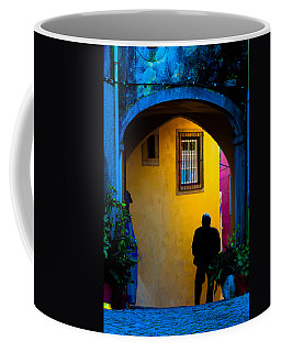 Walking Coffee Mug
