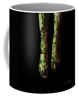 Walking In Clover Coffee Mug by Donna Blackhall