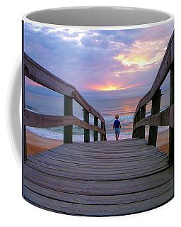 Walking Into Paradise Coffee Mug