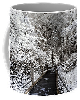 Walking Into The Infrared Jungle 1 Coffee Mug