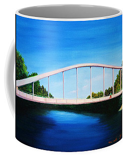 Walking On The Bridge  Coffee Mug