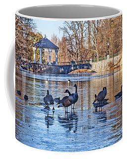 Walking On Thin Ice Coffee Mug
