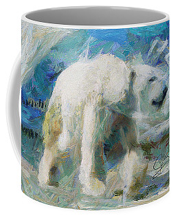 Coffee Mug featuring the painting Cold As Ice by Greg Collins