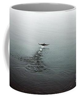 Coffee Mug featuring the photograph Walking On Water by Randi Grace Nilsberg