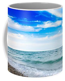 Walking The Shore - Extended Coffee Mug