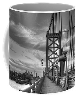 Walking To Philadelphia Coffee Mug