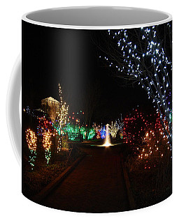 Walking Toward A Spectrum Of Delight Coffee Mug