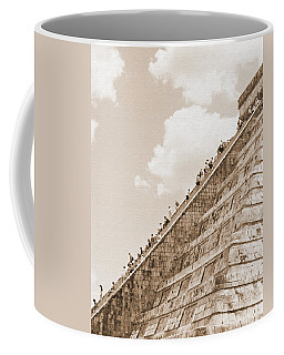 Walking Up The Pyramid Coffee Mug