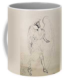 Walking With An Angel Coffee Mug