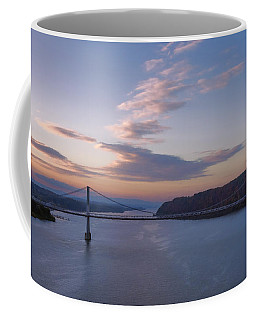 Walkway Over The Hudson Dawn Coffee Mug