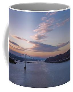 Walkway Over The Hudson Dawn Coffee Mug by Joan Carroll