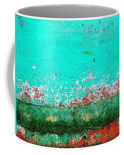 Coffee Mug featuring the digital art Wall Abstract 111 by Maria Huntley