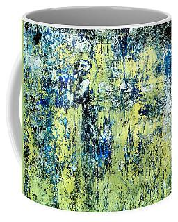 Coffee Mug featuring the digital art Wall Abstract 27 by Maria Huntley