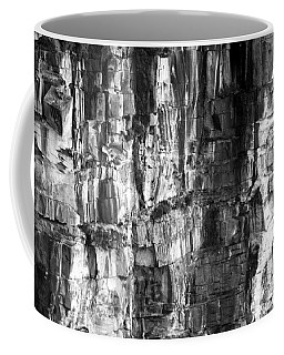 Coffee Mug featuring the photograph Wall Of Rock by Miroslava Jurcik