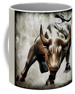 Wall Street Bull II Coffee Mug