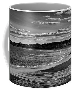 Wallis Beach Coffee Mug by Marcia Lee Jones