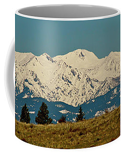 Wallowa Mountains Oregon Coffee Mug by Ed  Riche