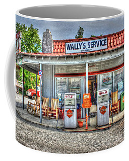Wally's Service Station Coffee Mug