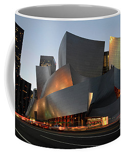 Walt Disney Concert Hall 21 Coffee Mug by Bob Christopher