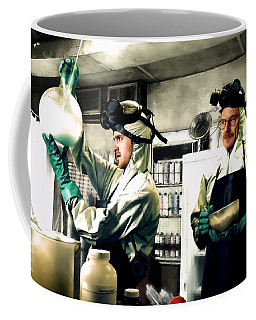 Walter White And Jesse Pinkman Coffee Mug