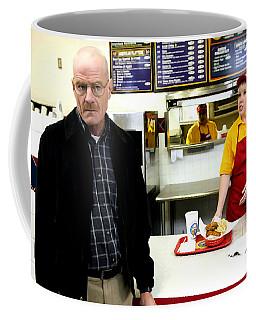 Walter White In Pollos Hermanos @ Breaking Bad Coffee Mug