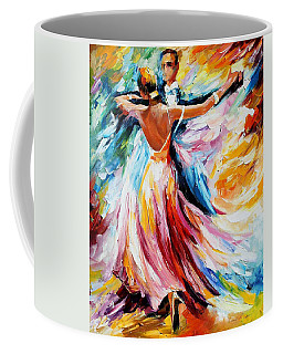 Waltz - Palette Knife Oil Painting On Canvas By Leonid Afremov Coffee Mug