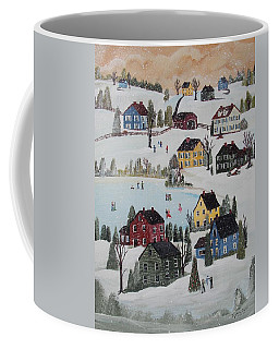 Waltzing Snow Coffee Mug