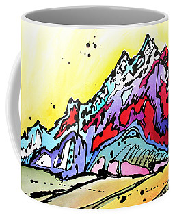 Waning Seasons In The Tetons Coffee Mug