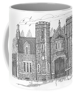 Ward Manor Bard College Coffee Mug