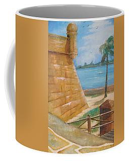 Warm Days In St. Augustine Coffee Mug