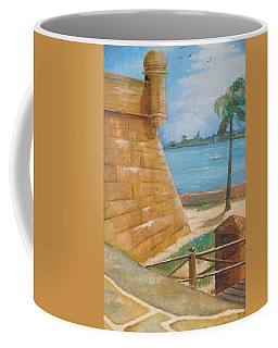 Warm Days In St. Augustine Coffee Mug