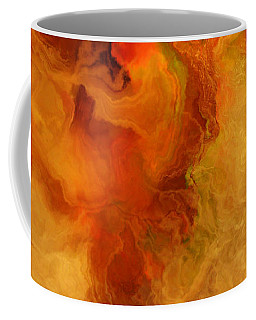 Warm Embrace - Abstract Art Coffee Mug by Jaison Cianelli