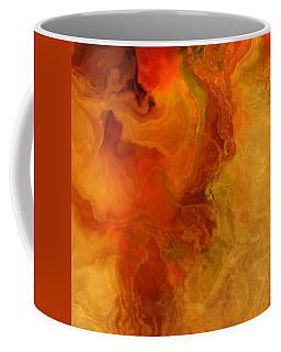 Warm Embrace II - Abstract Art Coffee Mug