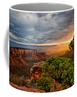 Warm Glow On The Monument Coffee Mug