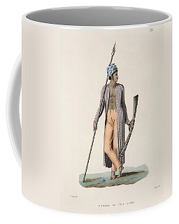 Warrior From The Island Of Guebe Coffee Mug