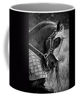 Warrior Horse Coffee Mug by Wes and Dotty Weber