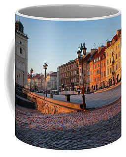 Warsaw At Sunrise Coffee Mug